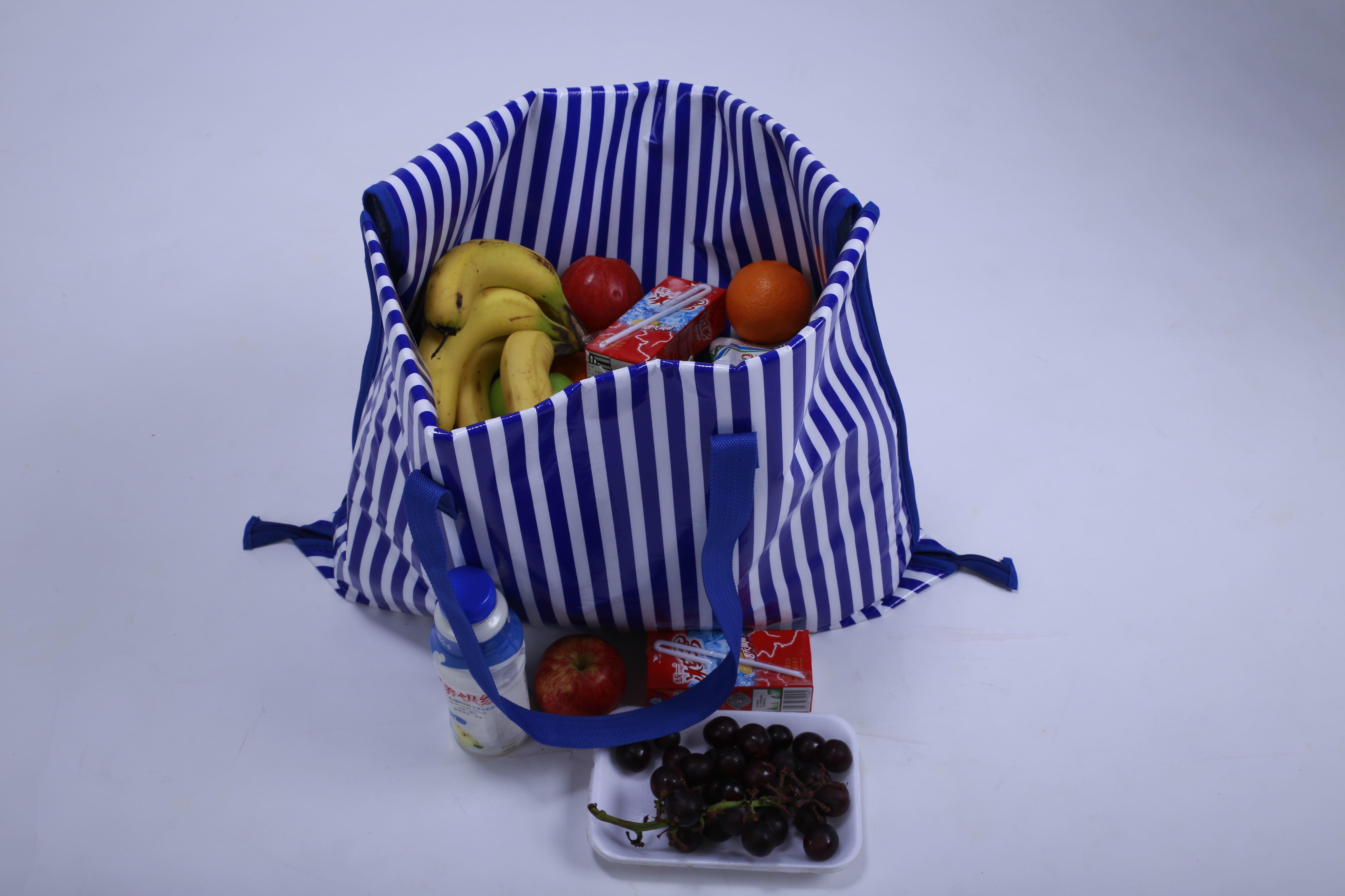 沙滩垫 购物袋 两用垫
