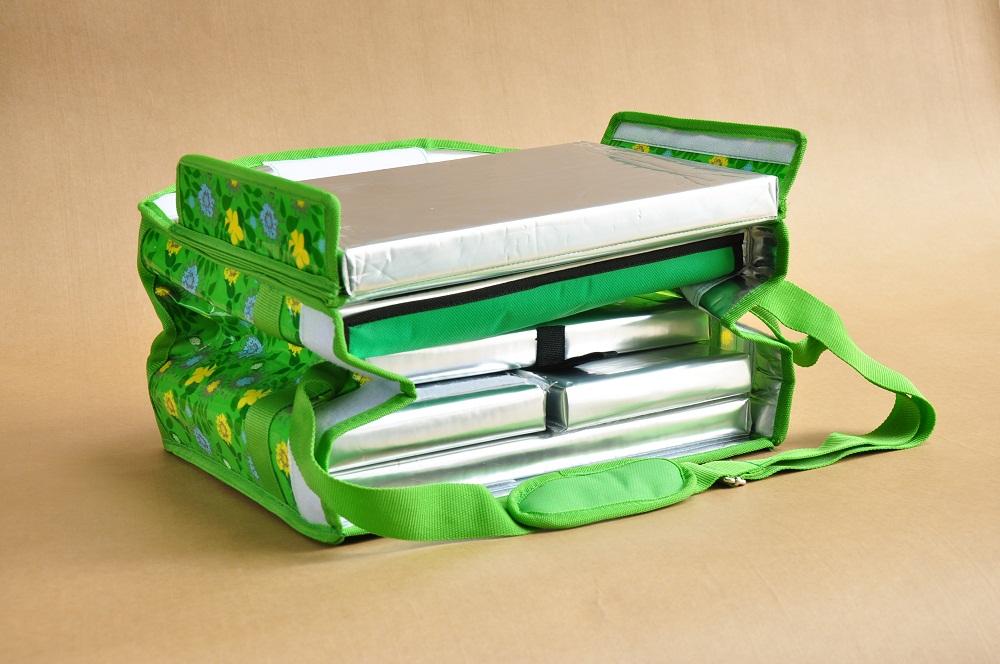 绿花可折叠冷藏箱