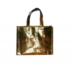 金色购物袋